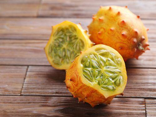 Horned Melon - Berry Sehat salad atau digunakan